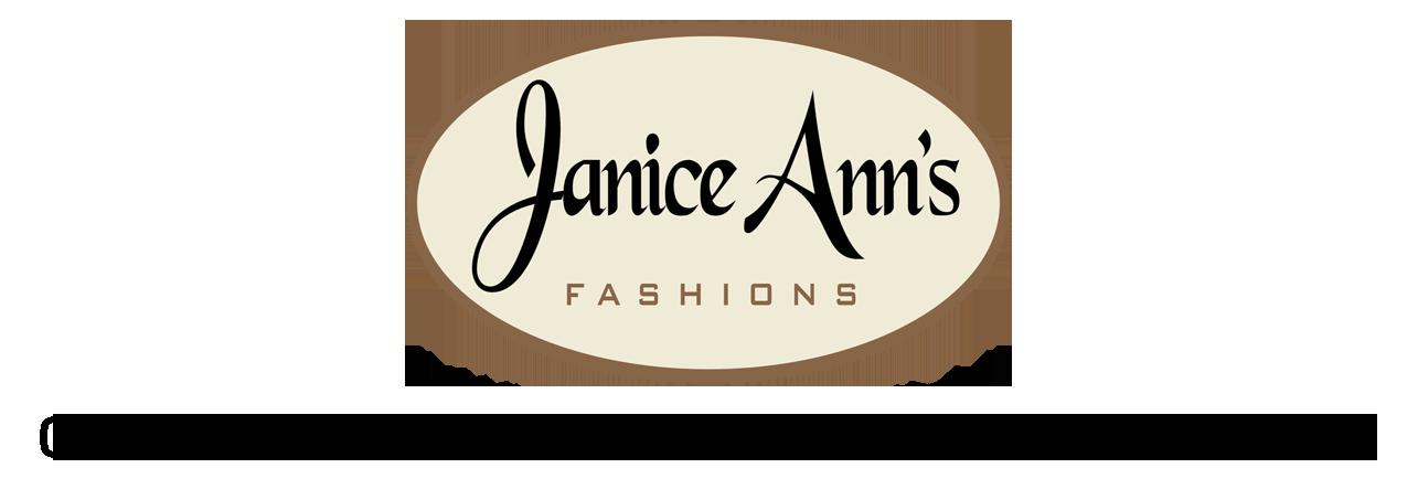 Janice Anns Logo with Bolder Tagline